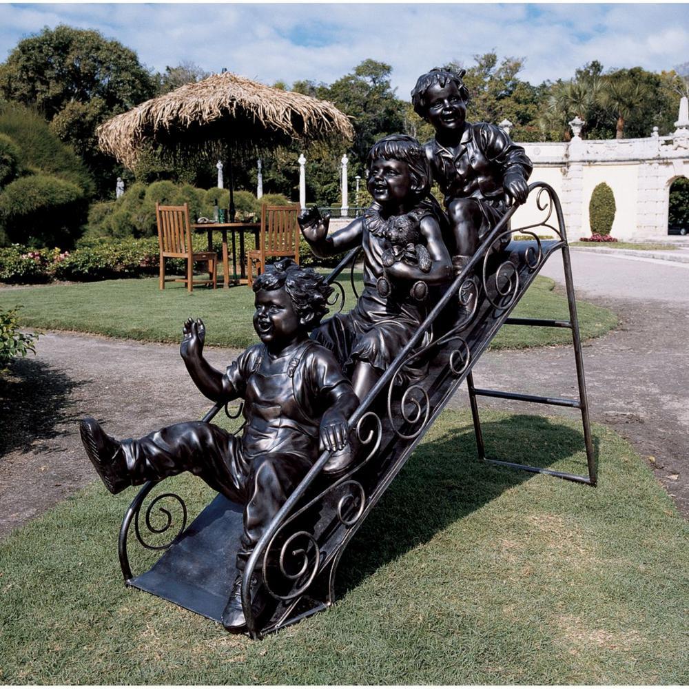 46 in. H Sliding Into Summer Sculpture