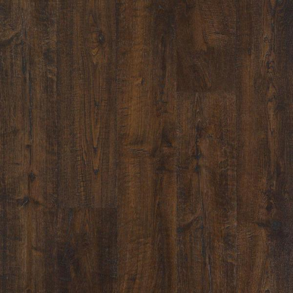 Outlast+ Waterproof Java Scraped Oak 10 mm T x 6.14 in. W x 47.24 in. L Laminate Flooring (16.12 sq. ft. / case)