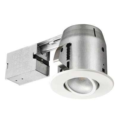 LED Directional 5 in. White Recessed Kit