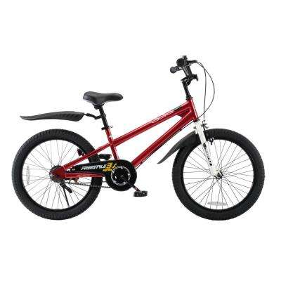 BMX Freestyle Boy's and Girl's Bike 20 in. wheels in Red