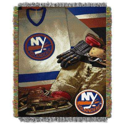 Islanders Multi Color Vintage Tapestry Throw