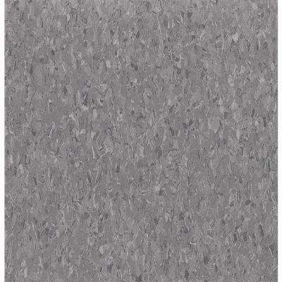 Take Home Sample - Imperial Texture VCT Charcoal Standard Excelon Commercial Vinyl Tile - 6 in. x 6 in.