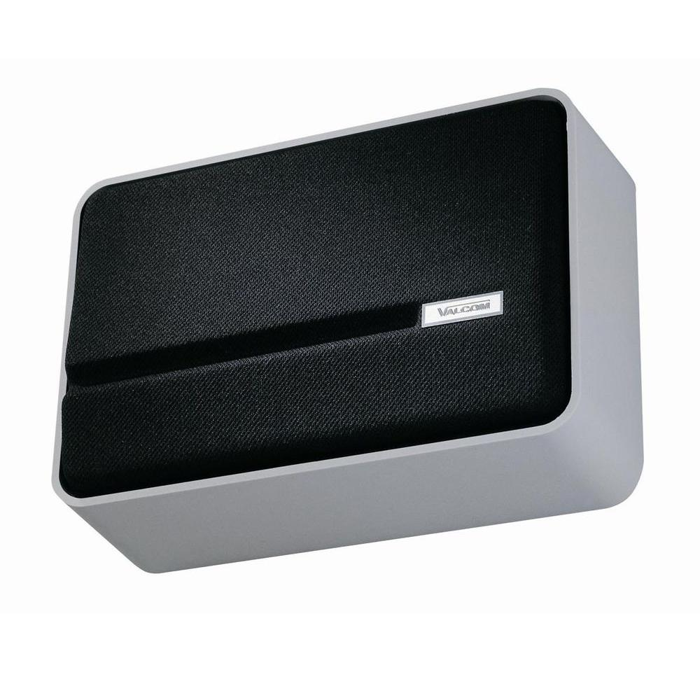 Valcom SlimLine One-Way Wall Speaker - Gray