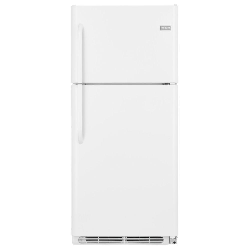 Frigidaire 20.53 cu. ft. Top Freezer Refrigerator in White
