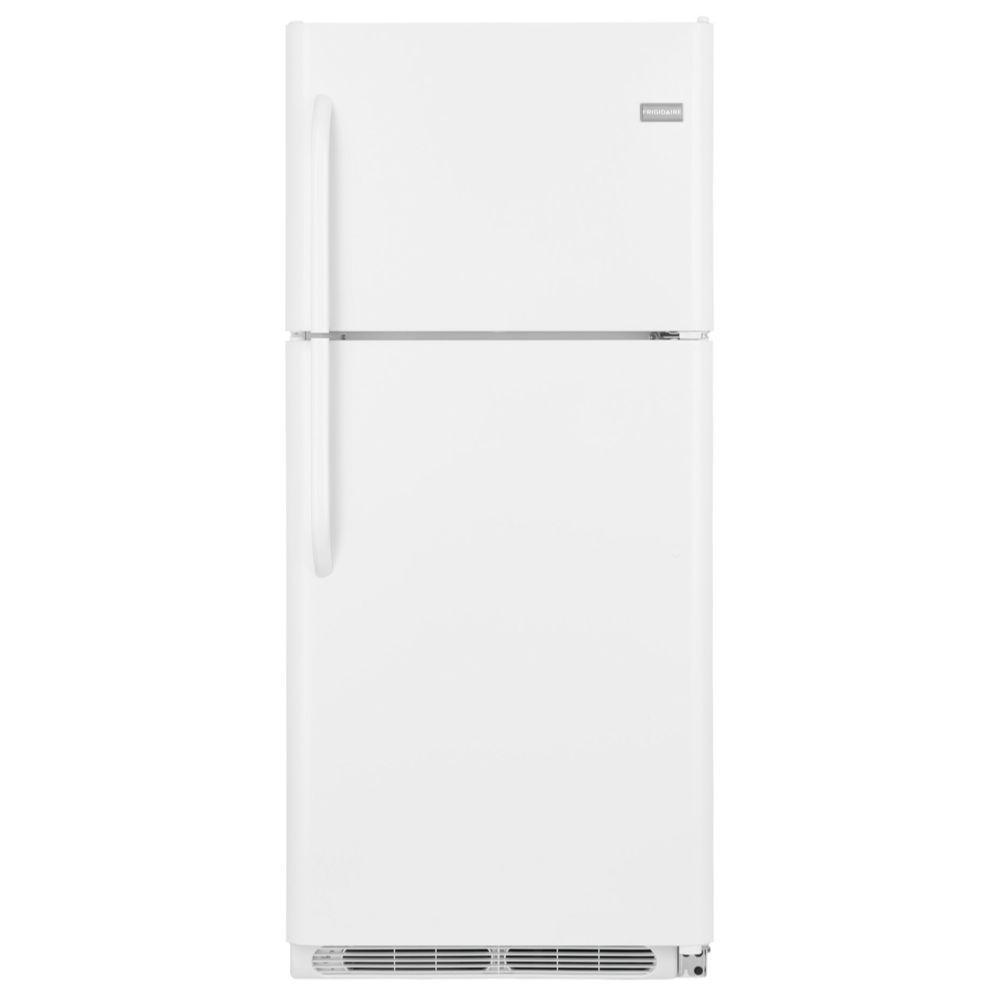 Frigidaire 20.53 cu. ft. Top Freezer Refrigerator in White