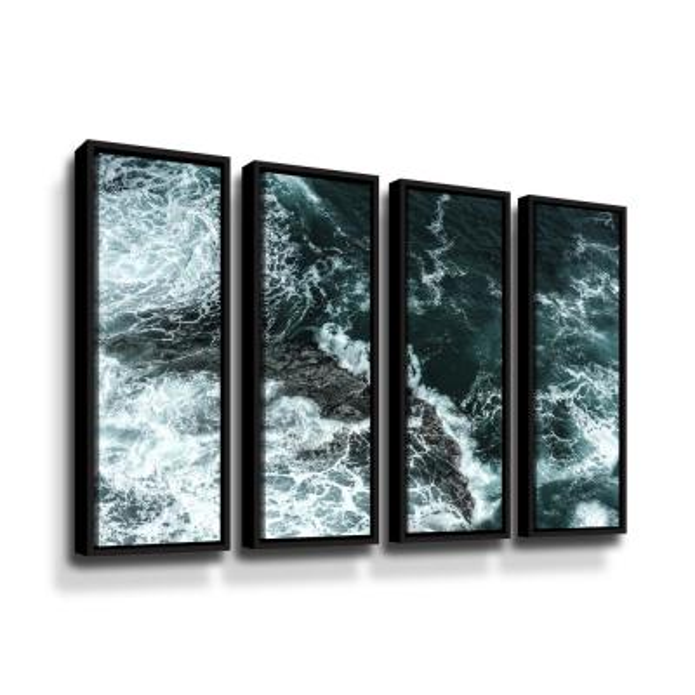 Waves II by PhotoINC Studio Framed Wall Art