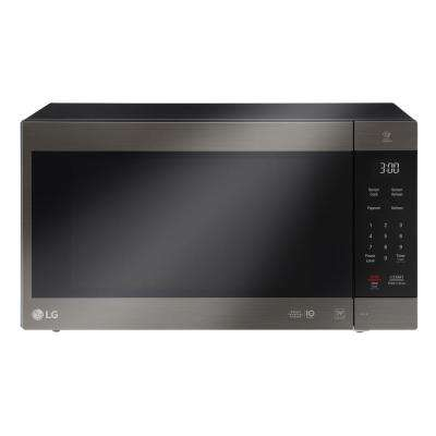 NeoChef 2.0 cu. ft. Countertop Microwave in Black Stainless Steel