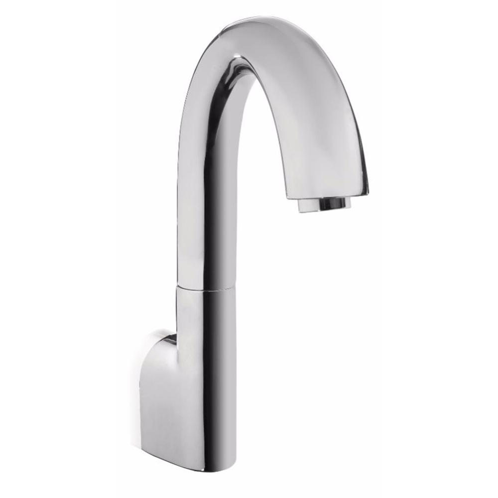 TOTO Gooseneck EcoPower On Demand 0.5 GPM Touchless Wall Mount Bathroom  Faucet In Polished