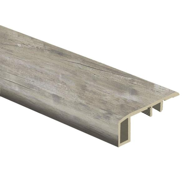 Lighthouse Oak 7/16 in. Thick x 1-3/4 in. Wide x 72 in. Length Vinyl Carpet Reducer Molding