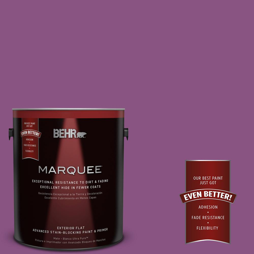 Home Decorators Collection 1-gal. #HDC-MD-07 Dynamic Magenta Flat Exterior Paint