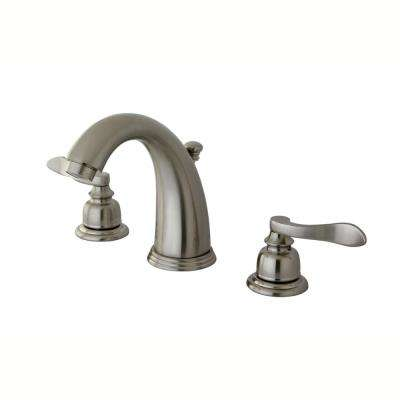 Bolton Nuwave 4 in. Minispread 2-Handle Bathroom Faucet in Satin Nickel