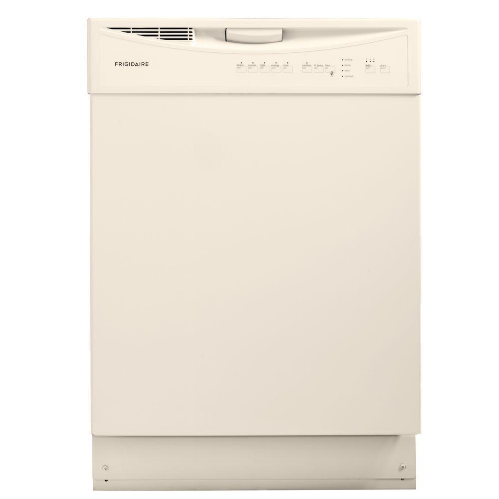Frigidaire Front Control Dishwasher in Bisque