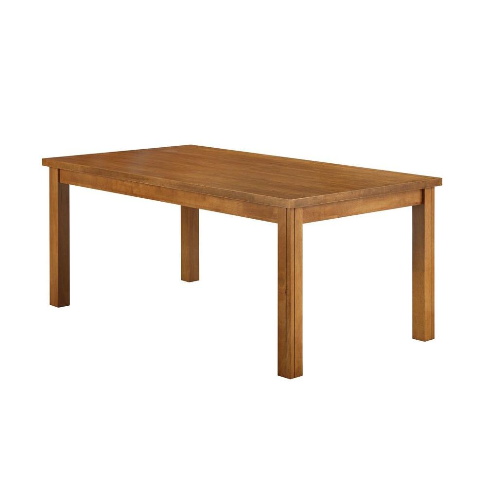 Boraam Grantsville Dining Table in Fruitwood-DISCONTINUED