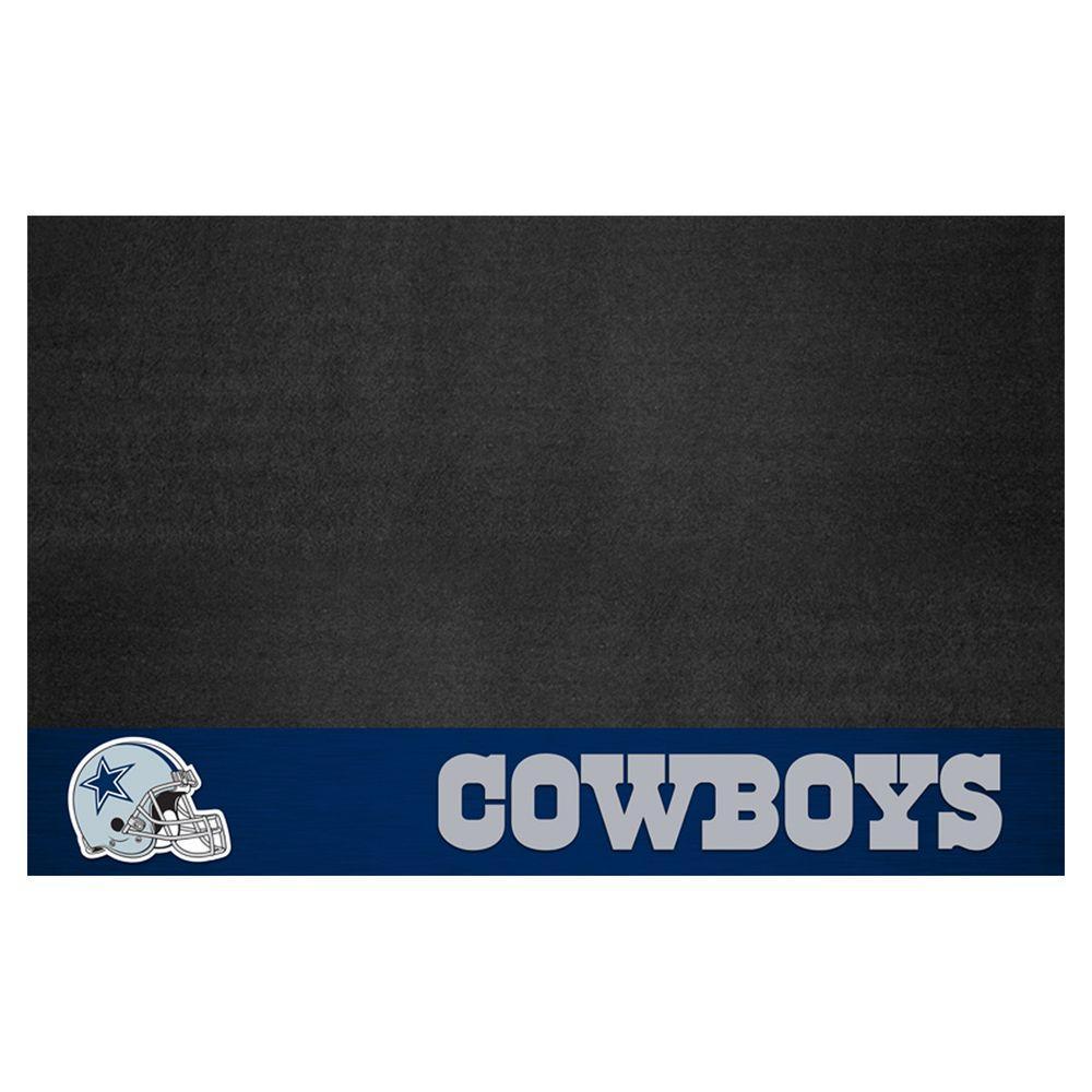 FANMATS Dallas Cowboys 26 in. x 42 in. Grill Mat