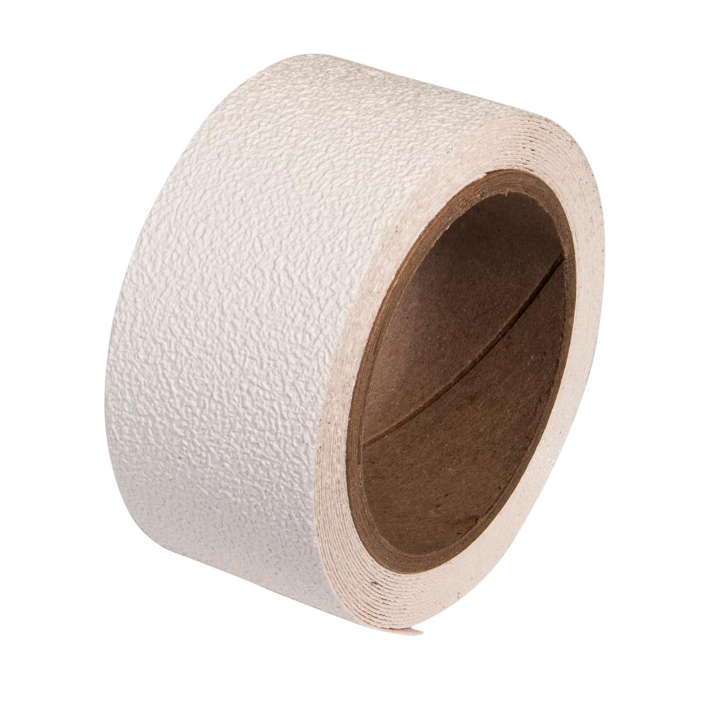 2 in. x 5 yds. White Anti-Slip Safety Tape