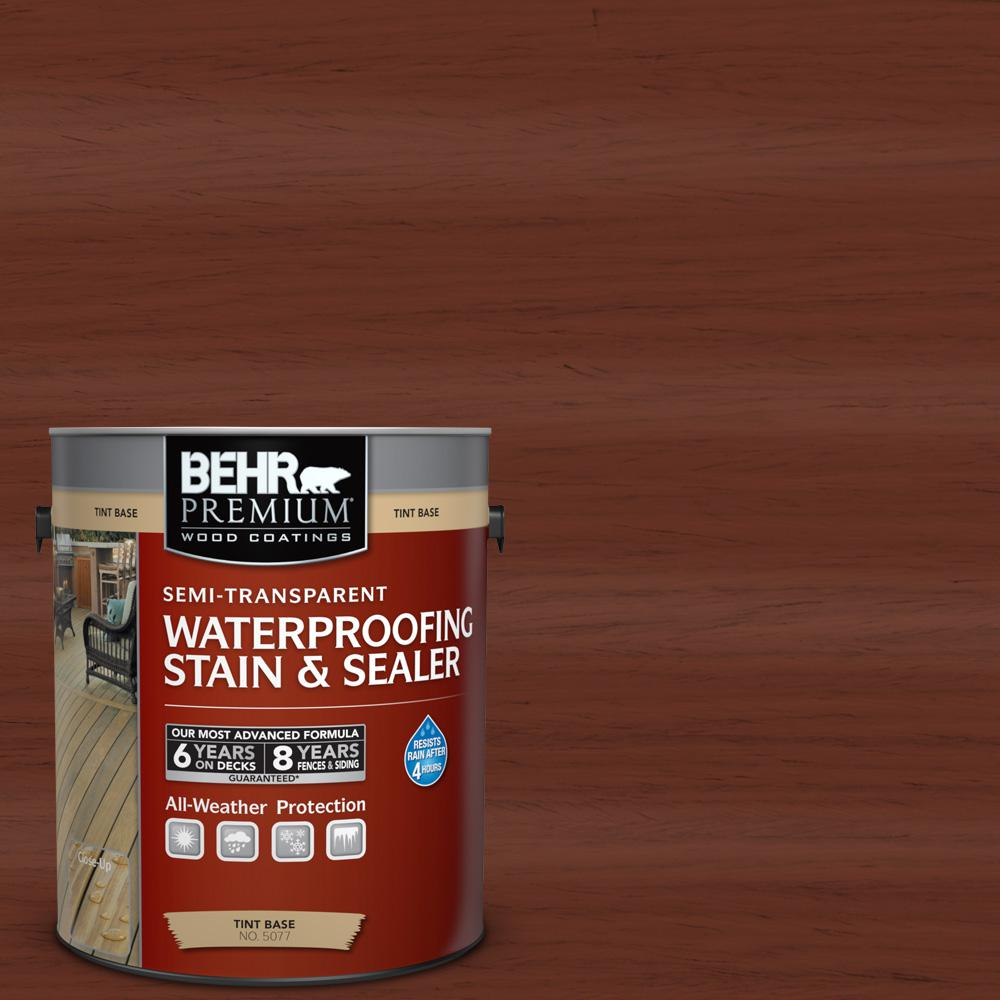 1 gal. #ST-118 Terra Cotta Semi-Transparent Waterproofing Stain and Sealer