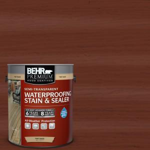 1-gal. #ST-118 Terra Cotta Semi-Transparent Waterproofing Stain and Sealer