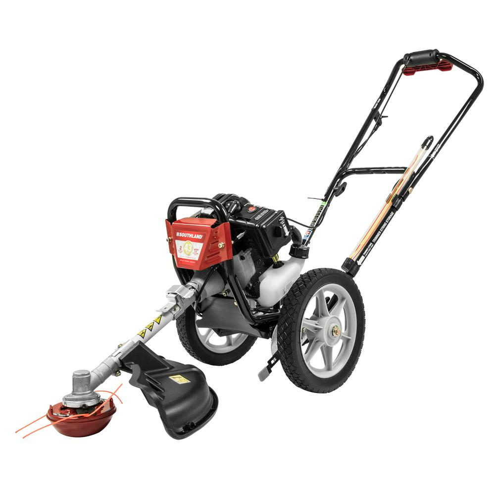 Southland 17 In 43cc Gas Multi Function Wheeled String Trimmer