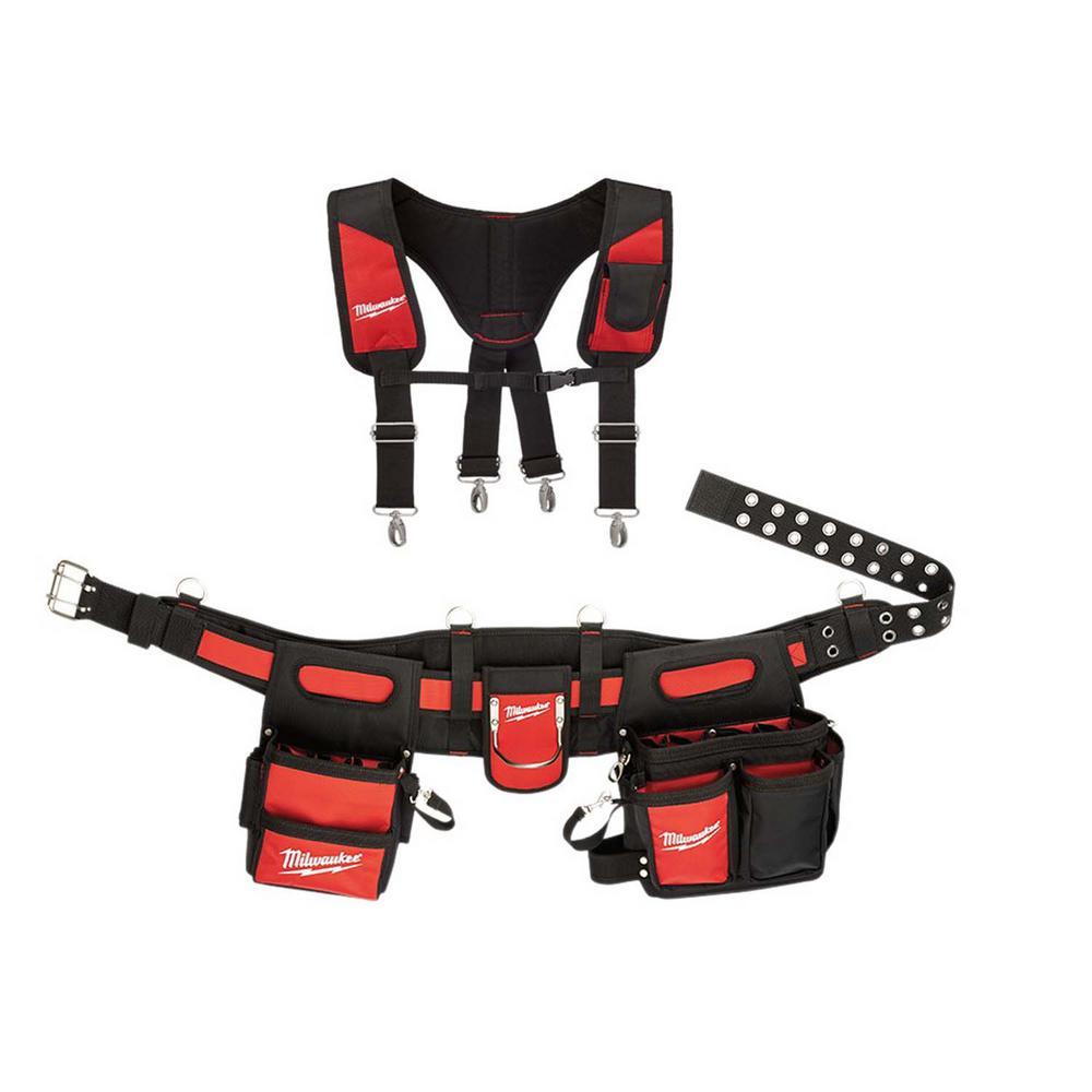 Electricians Adjustable Work Belt and Padded Rig