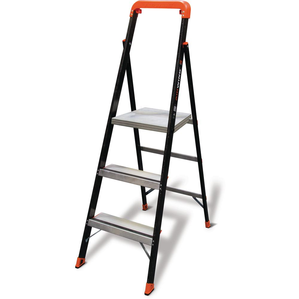 Little Giant Ladder Systems Airwing 5 Ft Fiberglass Step