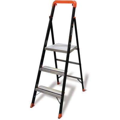 AirWing 5 ft. Fiberglass Step Ladder Type IAA 375 lbs. Rating