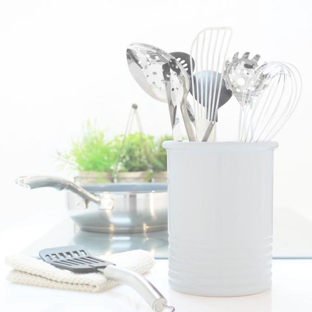 Leonardo Black Ceramic Kitchen Utensil Holder