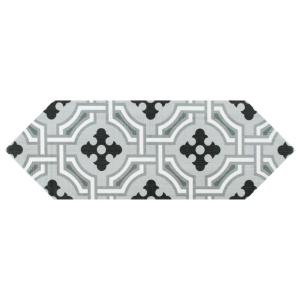 Kite Century Grey 4 in. x 11-3/4 in. Porcelain Floor and Wall Subway Tile (11.81 sq. ft. / case)