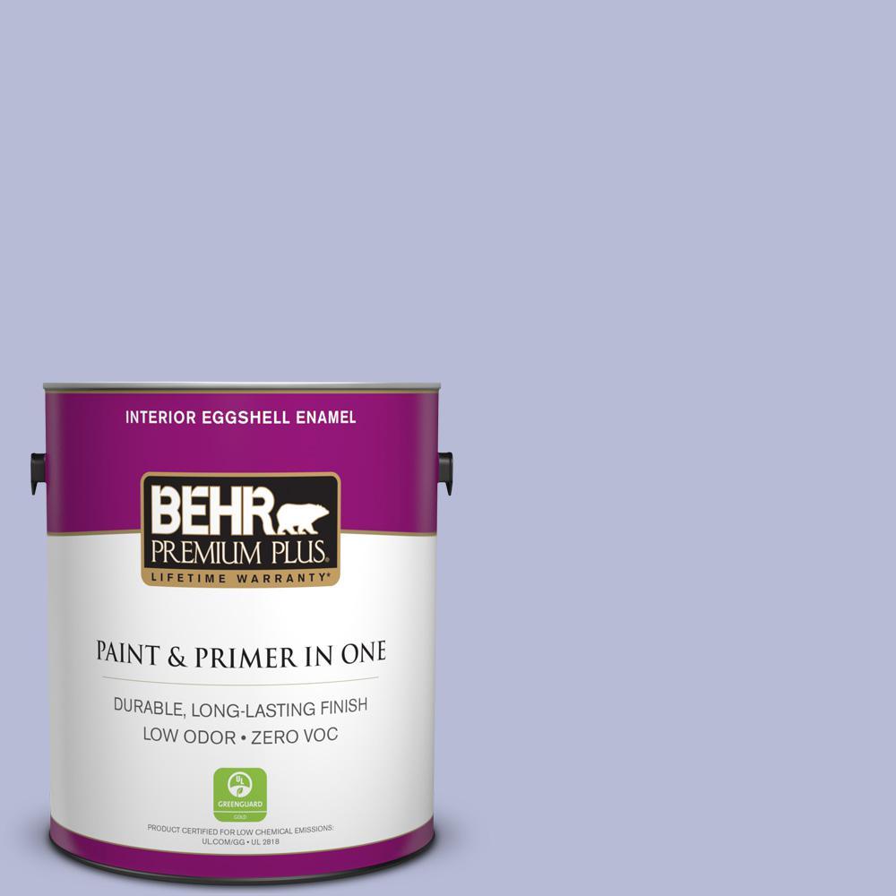 1-gal. #S540-2 Violet Vision Eggshell Enamel Interior Paint