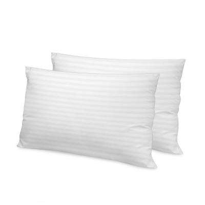 Luxury Memory Fiber Standard Pillow with 500 Thread Count Tencel Cover (2-Pack)