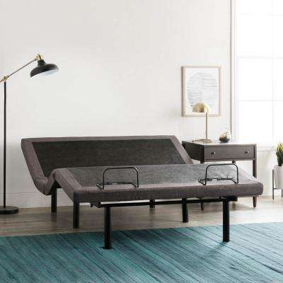 Classic Twin XL Adjustable Base with Wireless Remote in Charcoal Gray
