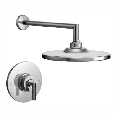 Arris Single-Handle 1-Spray Posi-Temp Eco-Performance Shower Faucet Trim Kit in Chrome (Valve Not Included)