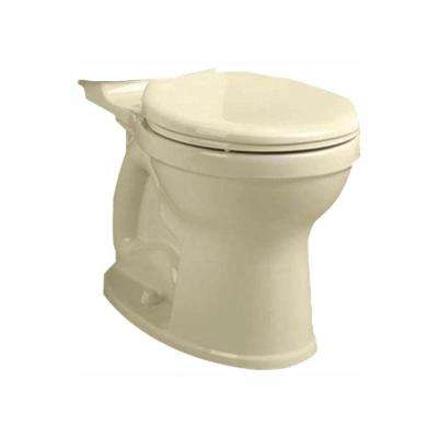 Champion 4 High Efficiency Tall Height Round Toilet Bowl Only in Bone