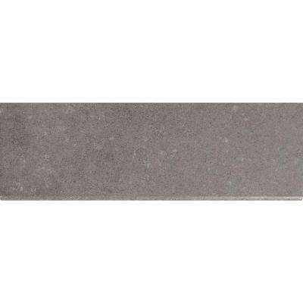 Beton Concrete Bullnose 4 in. x 12 in. Glazed Porcelain Wall Tile (1 lin. ft.)