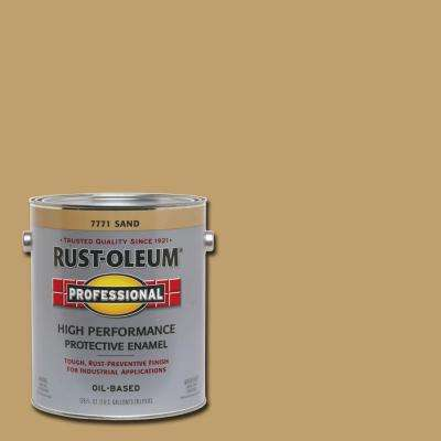 1 gal. High Performance Protective Enamel Gloss Sand Oil-Based Interior/Exterior Paint   (2-Pack)
