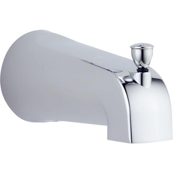 Foundations Pull-Up Diverter Tub Spout in Chrome