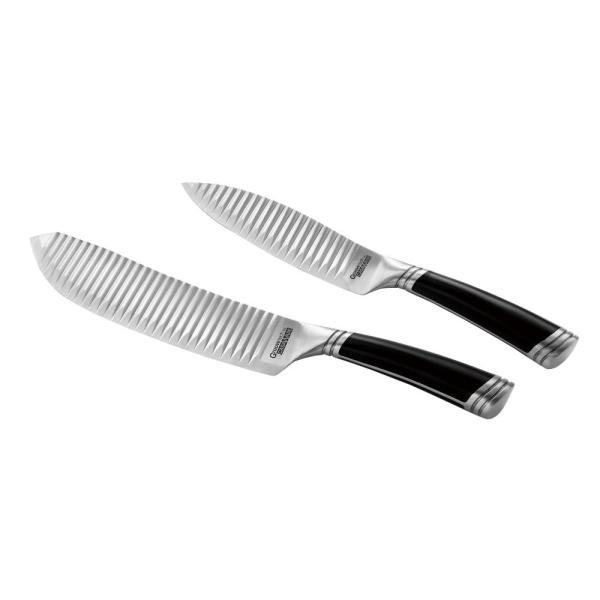 Casaware 2-Piece 8 in. All Purpose and Serrated Utility Knife Set