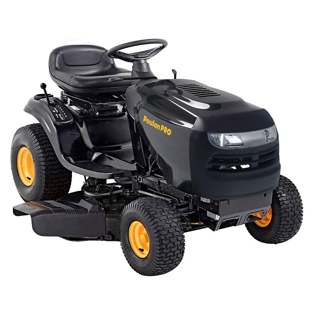 poulan pro lawn tractors 960460075 64_1000 poulan pro 42 in 17 1 2 hp briggs & stratton 6 speed gear gas front