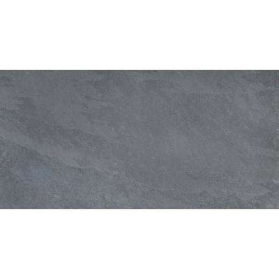 Montauk Black 12 in. x 24 in. Gauged Slate Floor and Wall Tile (10 sq. ft. / case)