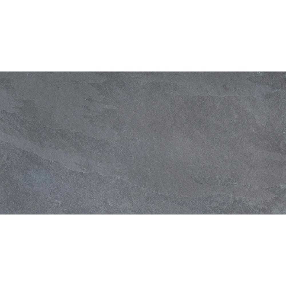 Gauged Slate Floor And Wall Tile 10 Sq Ft Case Smonblu1224g The Home Depot