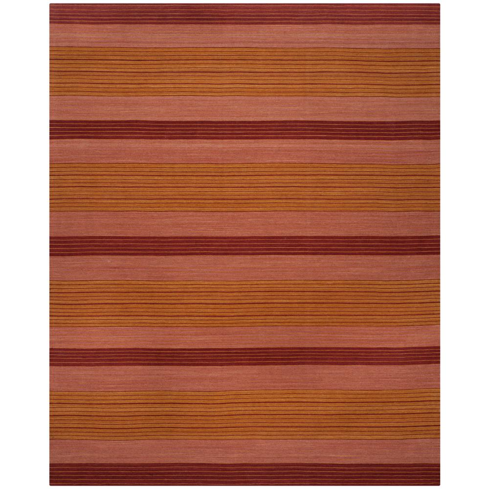 Marbella Rust 5 ft. x 8 ft. Area Rug