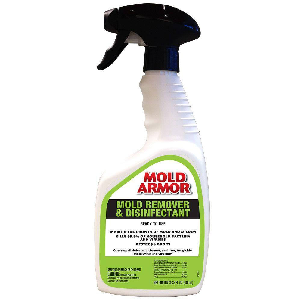 Mold Armor 32 Oz Mold Remover And Disinfectant Pro
