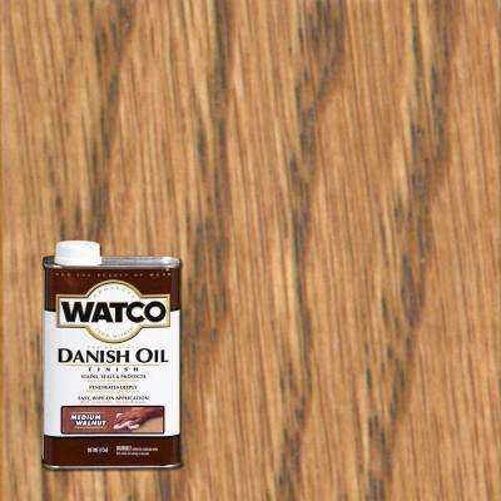 1 pt. Medium Walnut 275 VOC Danish Oil (Case of 4)