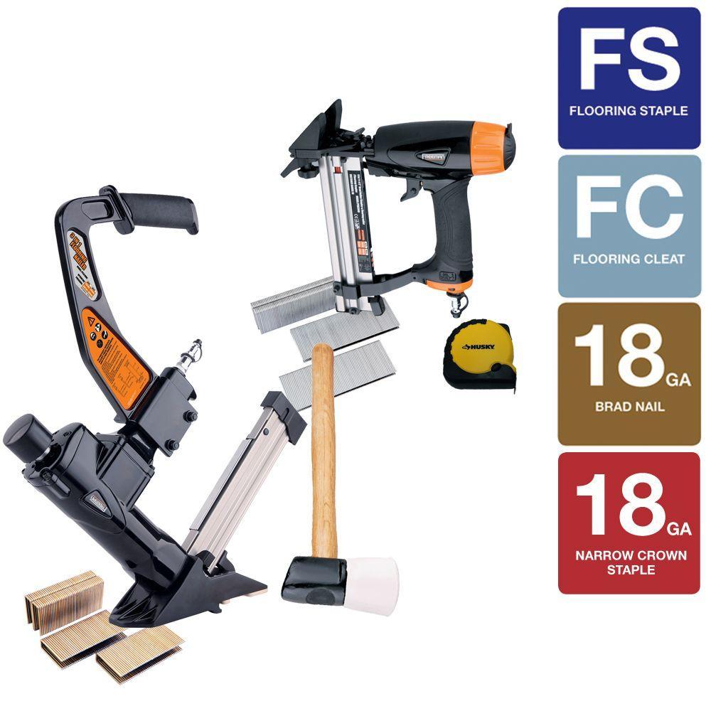 Freeman Pneumatic Ultimate Flooring Nailer Kit