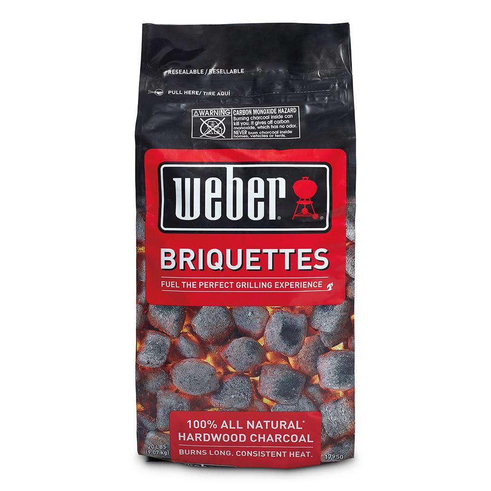 Weber Charcoal Briquettes-17950 - The Home Depot