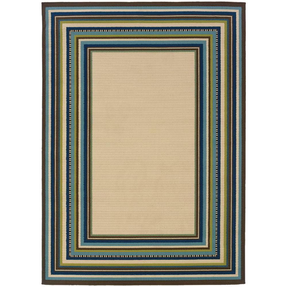 Home Decorators Collection Pompano Beige 8 Ft X 11 Area Rug