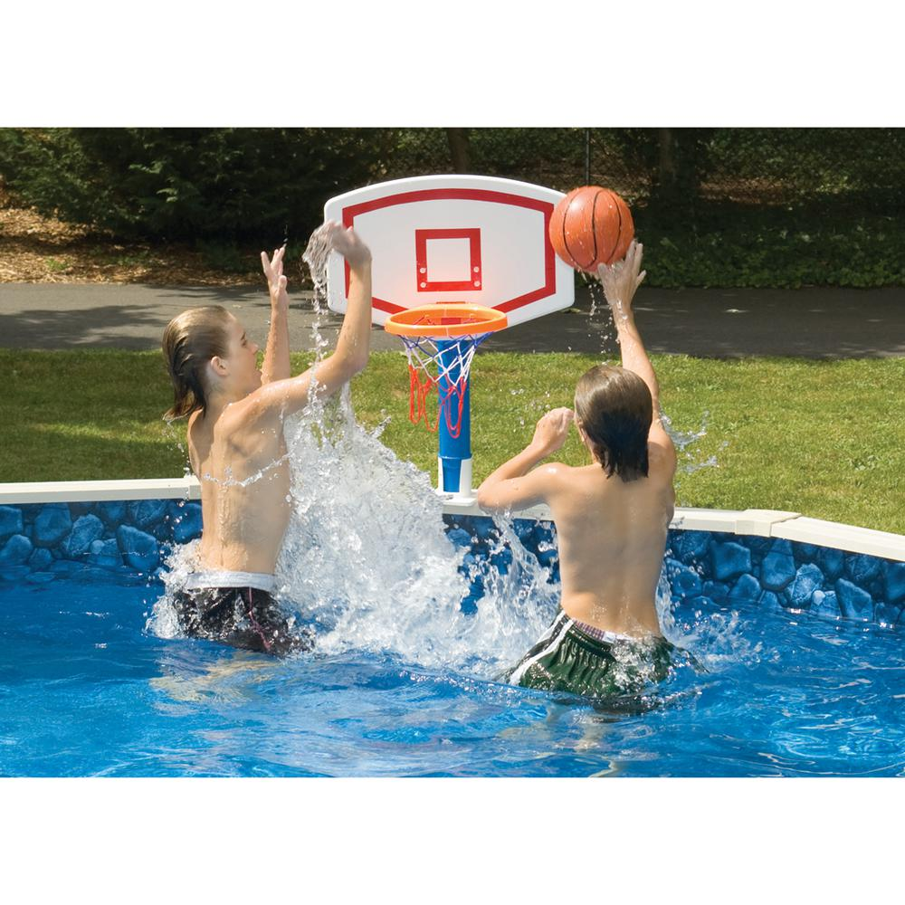 Swimline Jammin 39 Aboveground Pool Basketball Game 9182sl The Home Depot
