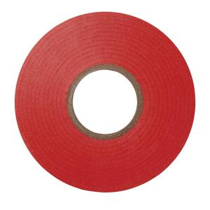 Scotch 75 in. x 66 ft. #35 Electrical Tape, Red