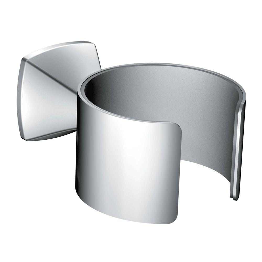 MOEN Voss Wall Mounted Hair Dryer Holder in Chrome