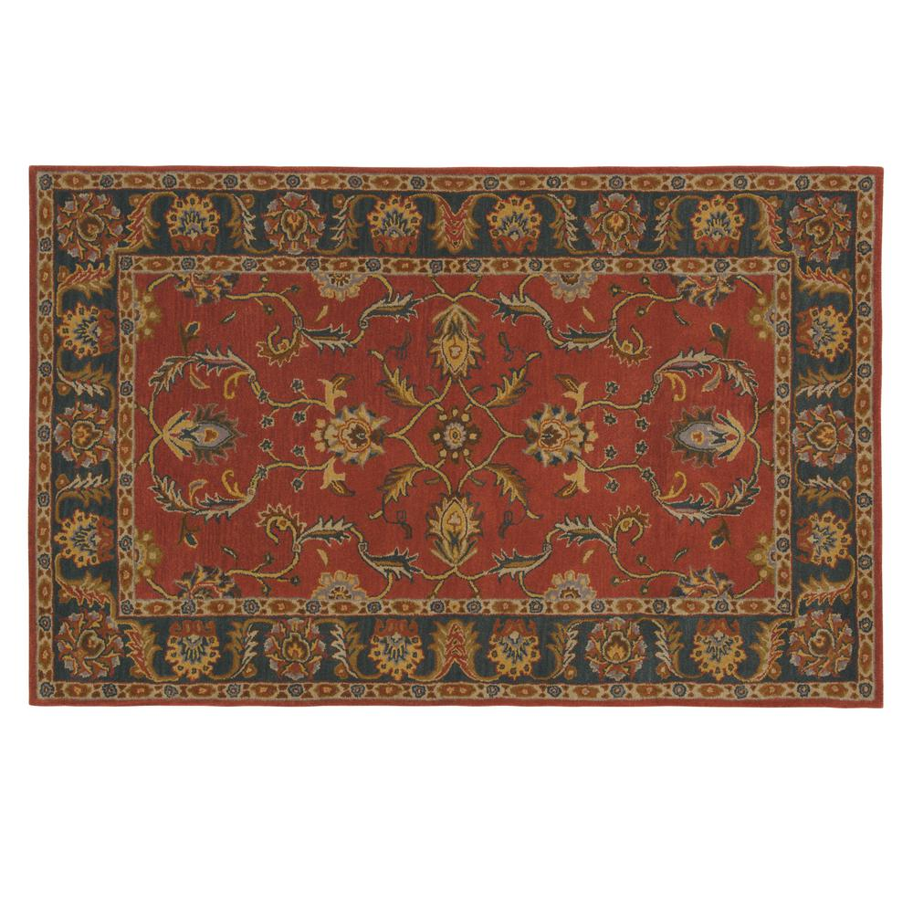 Home decorators collection aristocrat rust red 5 ft x 8 for Home decorators catalog rugs