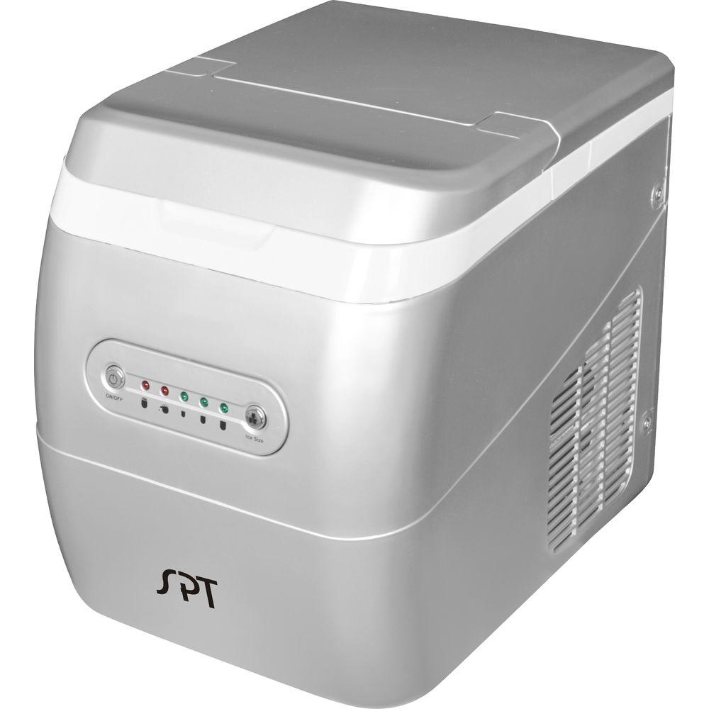 SPT 26 lb. Portable Ice Maker in Silver